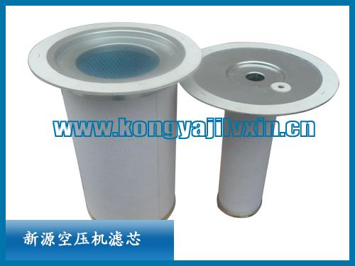 02250100-754寿力初级油气分离滤芯